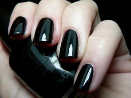 Opi Black Onyx Gel Nail Polish Gct02 Nail Polish Diva