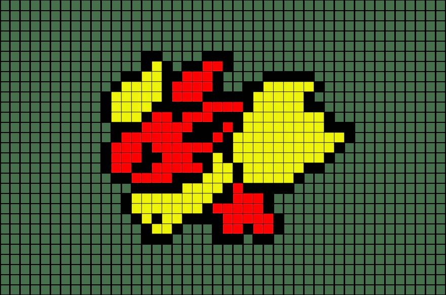 pokemon pixel art templates