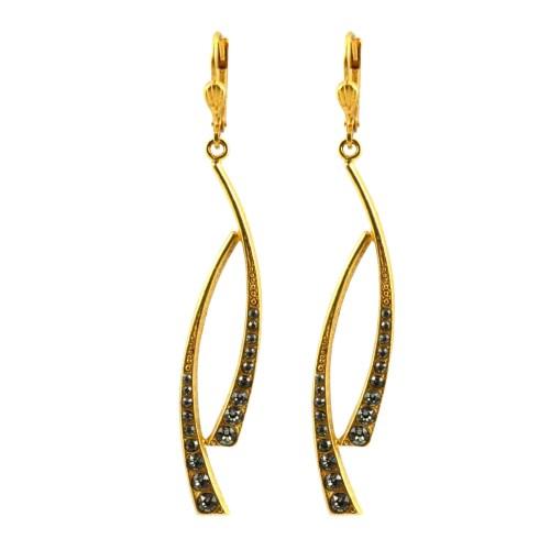 Medium Of Art Deco Earrings