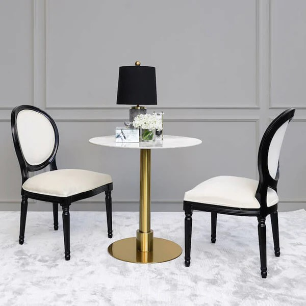 Leo Marble Round Dining Table In Singapore Finn Avenue