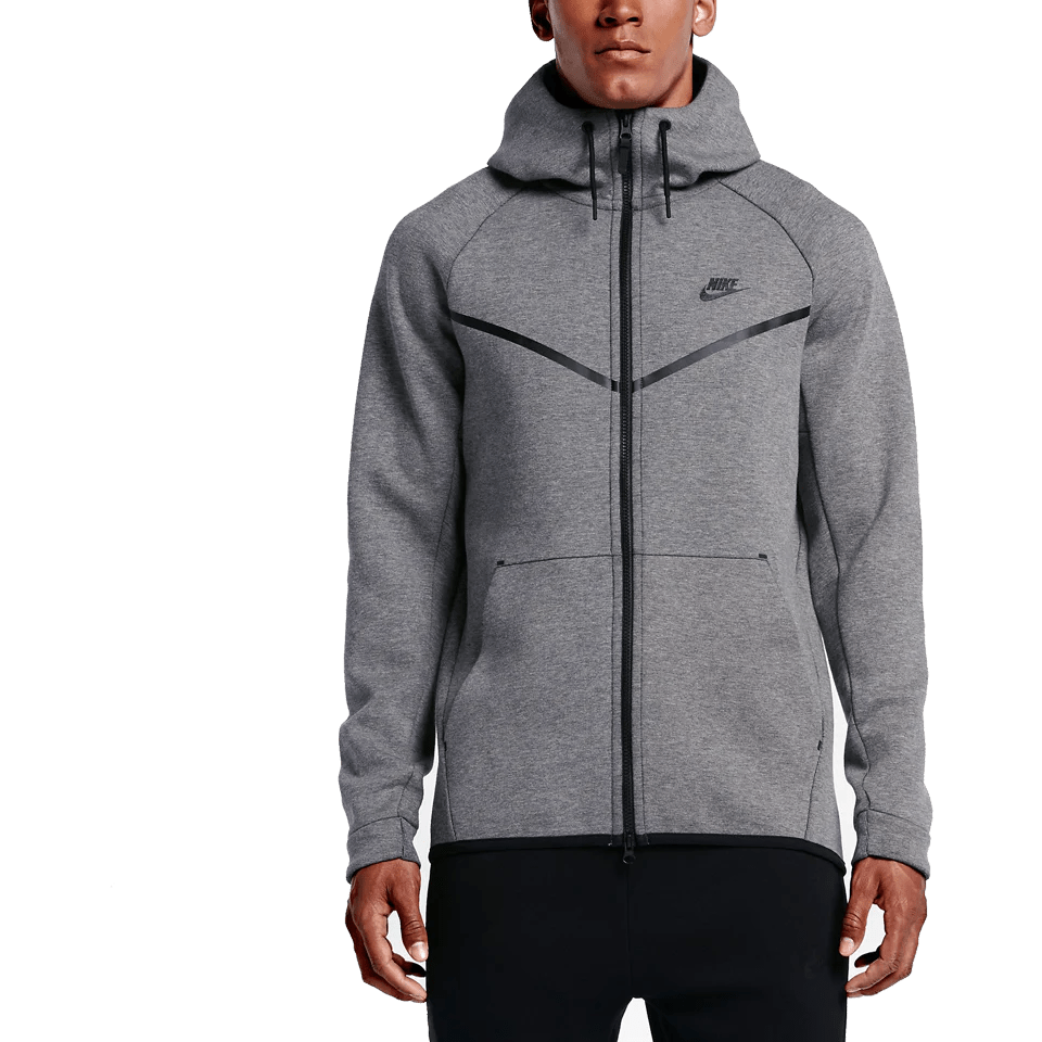 Nike Hoodie Carbon Heather Nike Men S Tech Fleece Windrunner Hoodie Carbon Heather