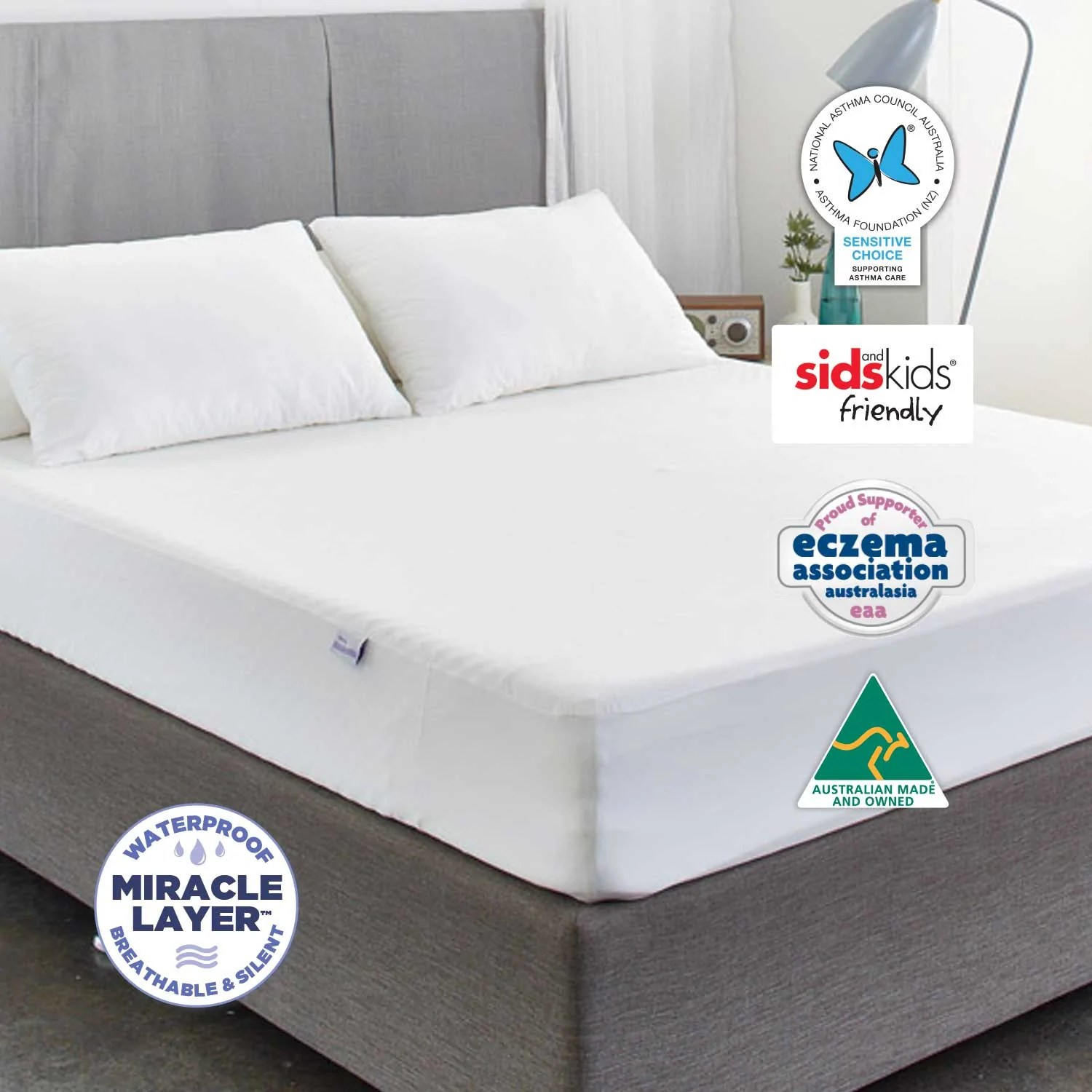 King Single Mattress Protector Total Protection Kit King Single Protect A Bed