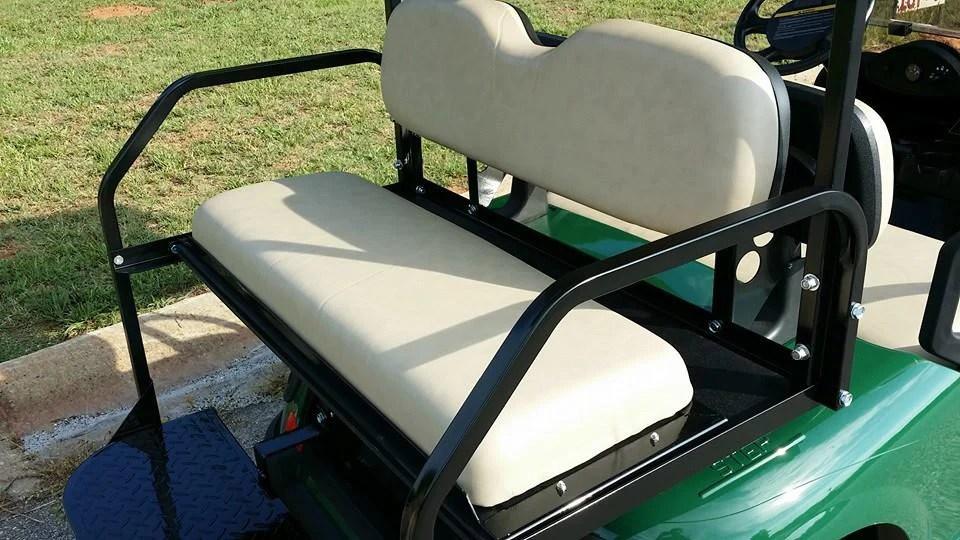 Golf Cart Rear Seat Kit Club Car Golf Cart Golf Cart Customs