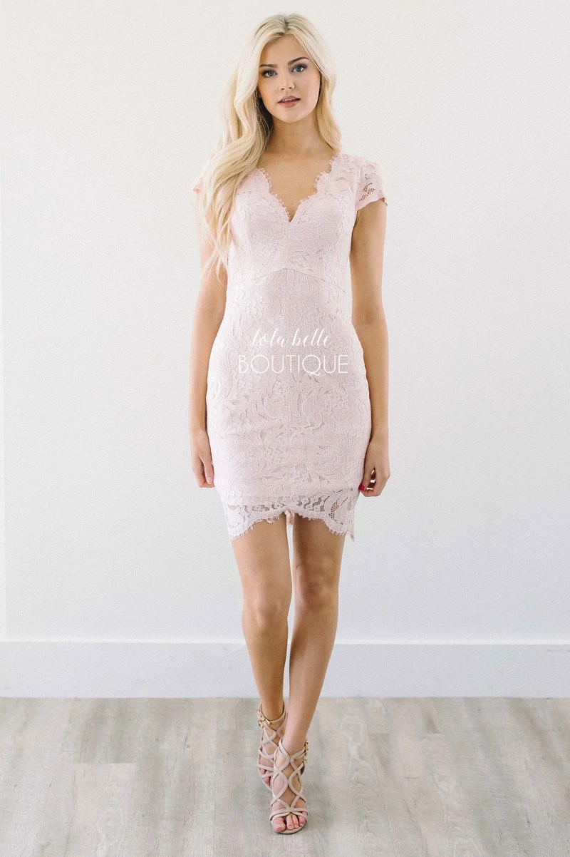 Large Of Pink Lace Dress