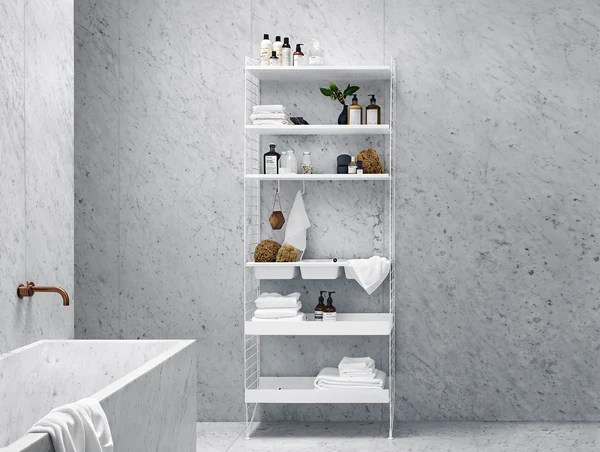 Badezimmer Shop String Metal Shelves By String · Really Well Made