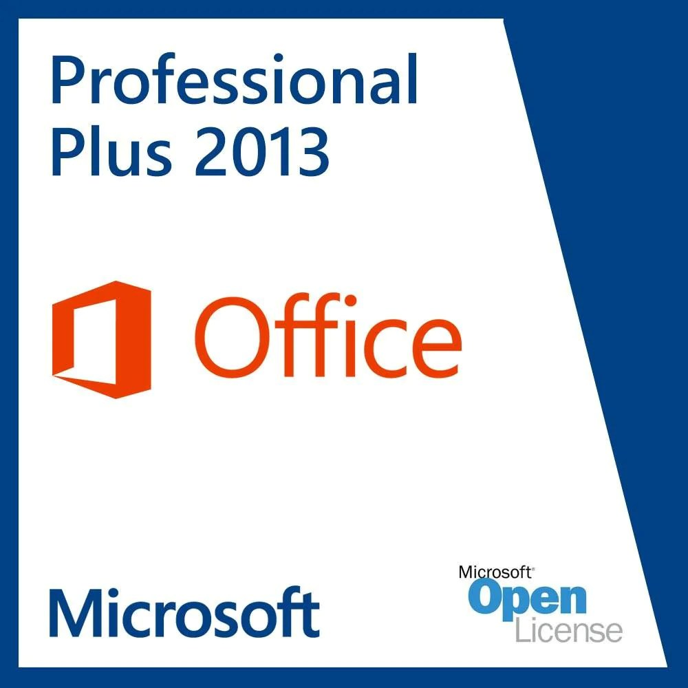 Microsoft Office 2013 Professional Plus Microsoft Office Professional Plus 2013 Open Business