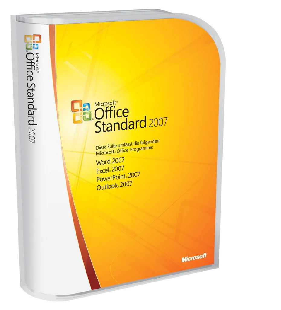 Outlook Pack Office Microsoft Office Standard 2007 Box Pack