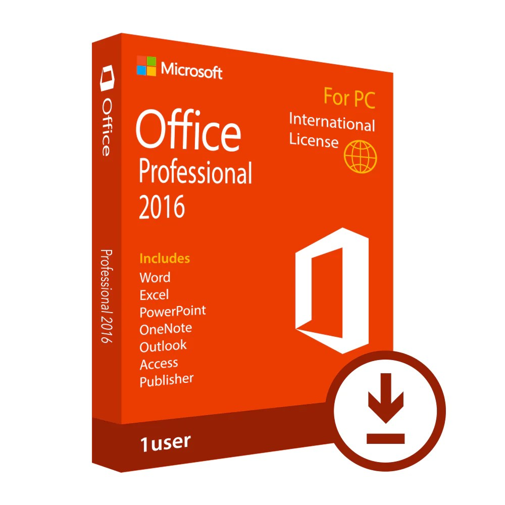 Microsoft Office Windows 7 Microsoft Office Professional 2016 Download International License