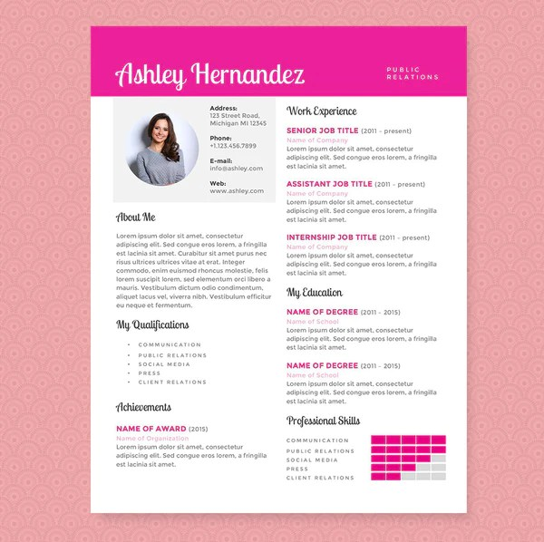 public relations resume template - Selol-ink - public relations resume templates
