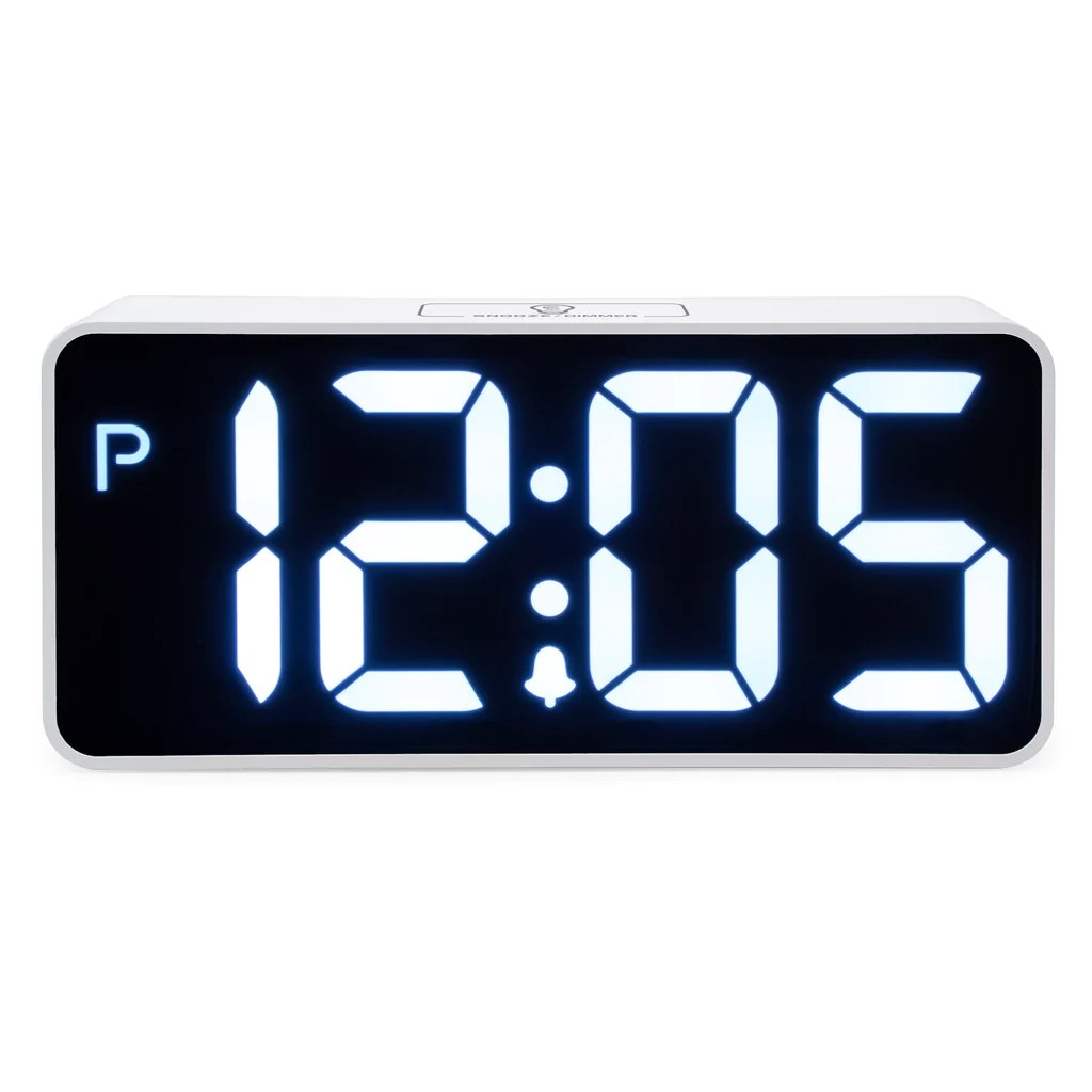 Digital Clock Easy To Read 8 9