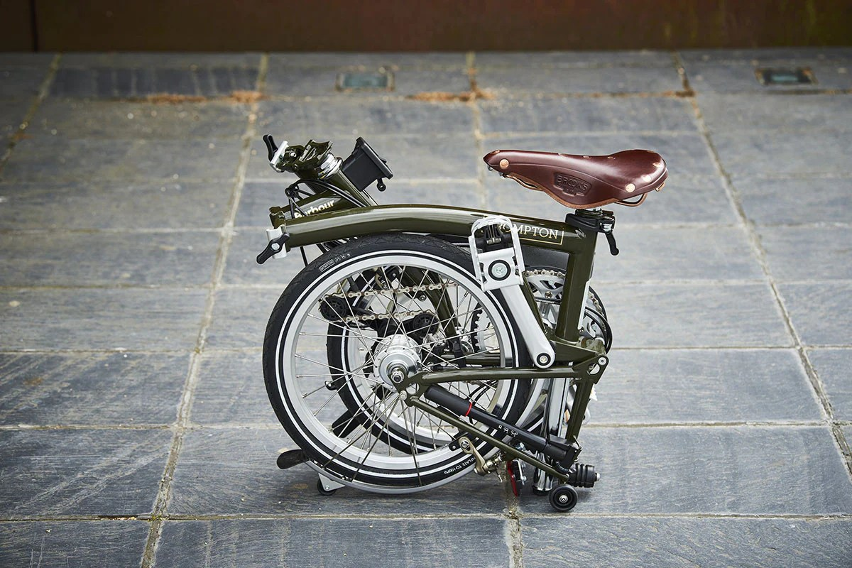 Brompton Bikes Brompton Team Up With Barbour Condor Cycles