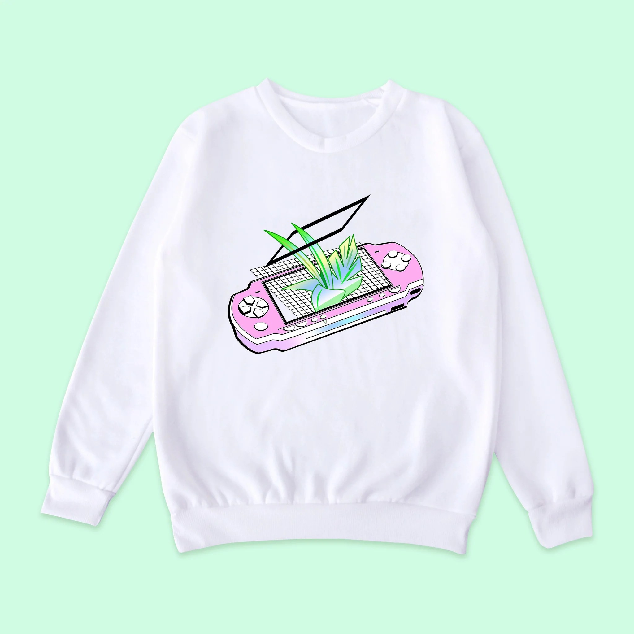 Aliens Cute Wallpaper Vaporwave Tumblr Aesthetic Psp Jumper Kokopiecoco