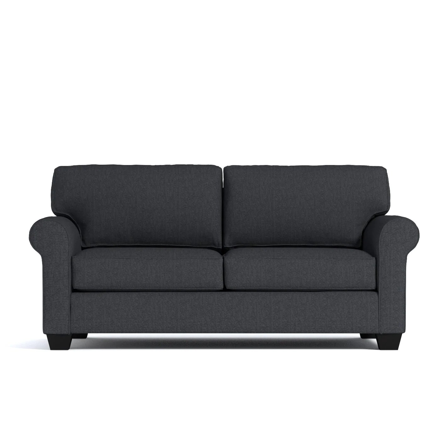 Sofa Open Box Lafayette Loveseat In Charcoal Clearance
