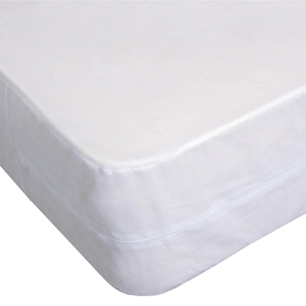 Bed Bug Proof Cover Box Spring Cover Waterproof Bed Bug Proof Zippered Protector