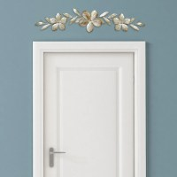 Champagne Flower Over the Door Wall Dcor  Stratton Home ...