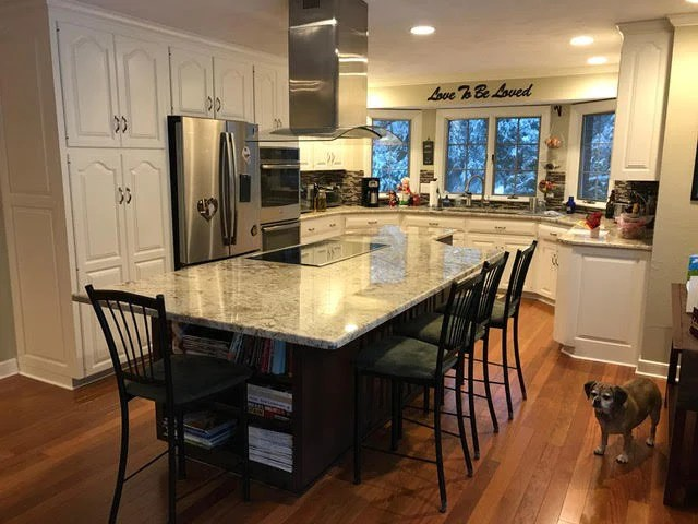 Kitchen Island With Seating On Both Sides What Could You Do With A Few More Inches Of Kitchen