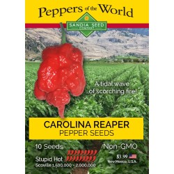 Small Crop Of Pepper X Scoville