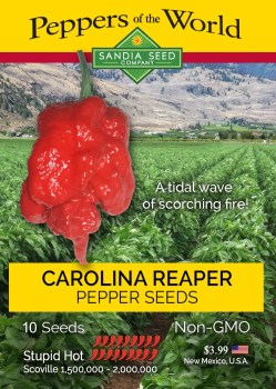 Artistic Hottest Pepper 2018 2019 Carolina Reaper Seeds Breath Chilli At Million Scoville Sandia Seed Company Pepper X Last Dab Scoville Chocolate Pepper X Scoville
