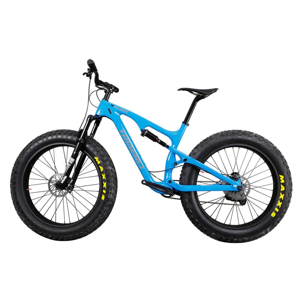 Fat Bike Carbon Full Suspension Fat Bike