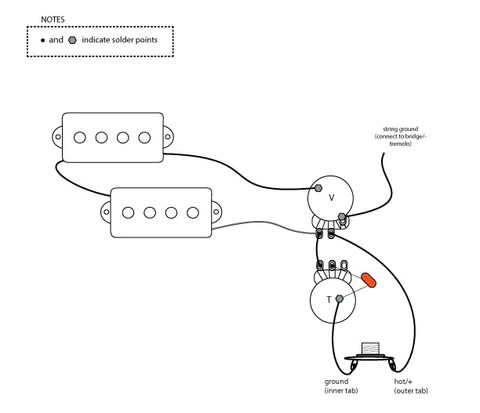 Electric Single Pick Up Guitar Wiring Diagrams Wiring Schematic