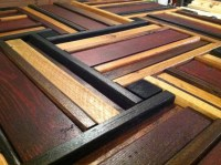 Stained Wood Weave  Scrap Wood Designs