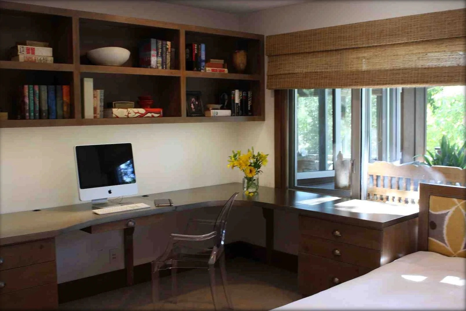 modern home office guest room download