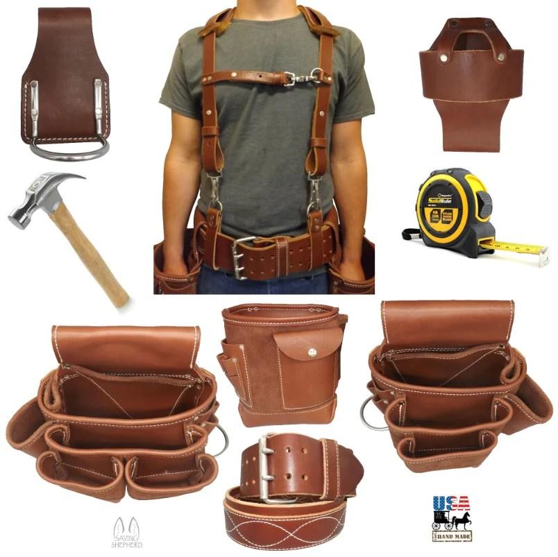 Hammer Holster Leather Stainless Steel Holder