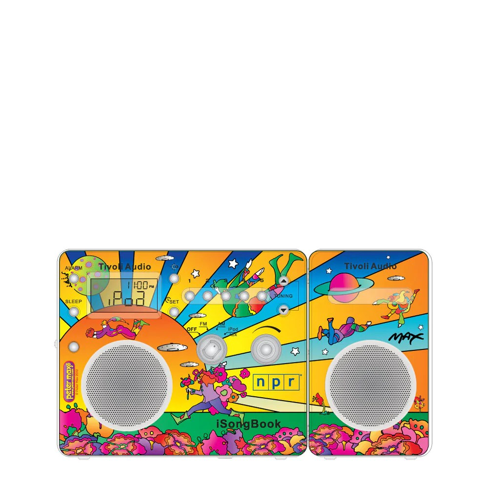 Tivoli Audio Yellow Limited Edition Peter Max Isongbook Am Fm Alarm Clock Radio