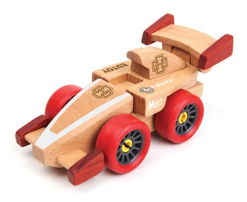 F1 Racing Magnetic Wooden Cars Edtoy Funshop Co Za