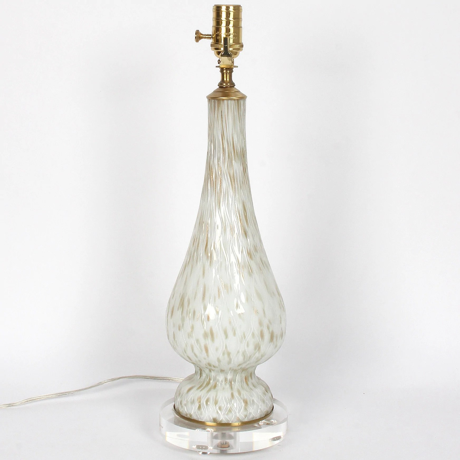 Vintage Table Lamps Vintage Murano Glass Table Lamp