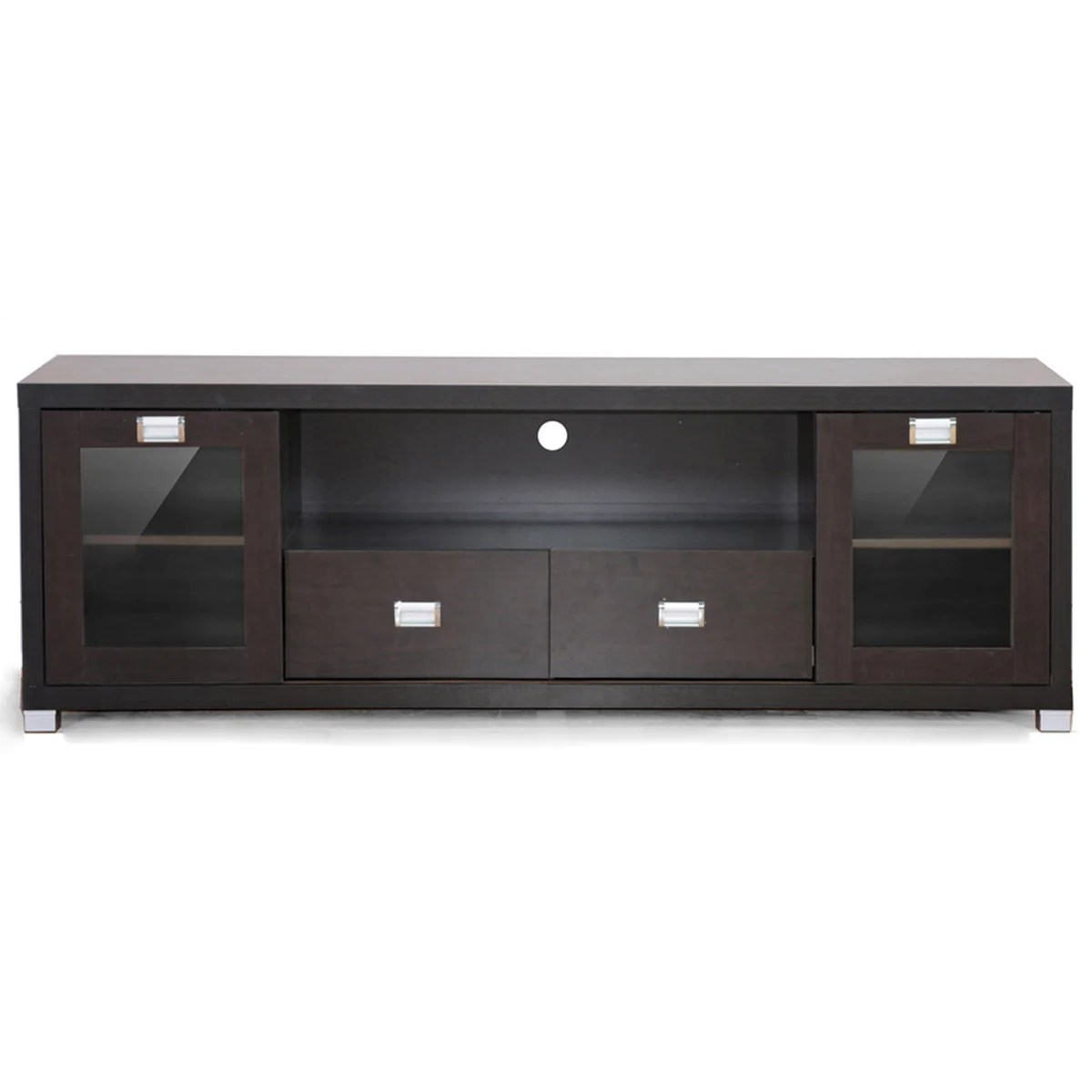 Tv Sideboard Modern Gosford Brown Wood Modern Tv Stand
