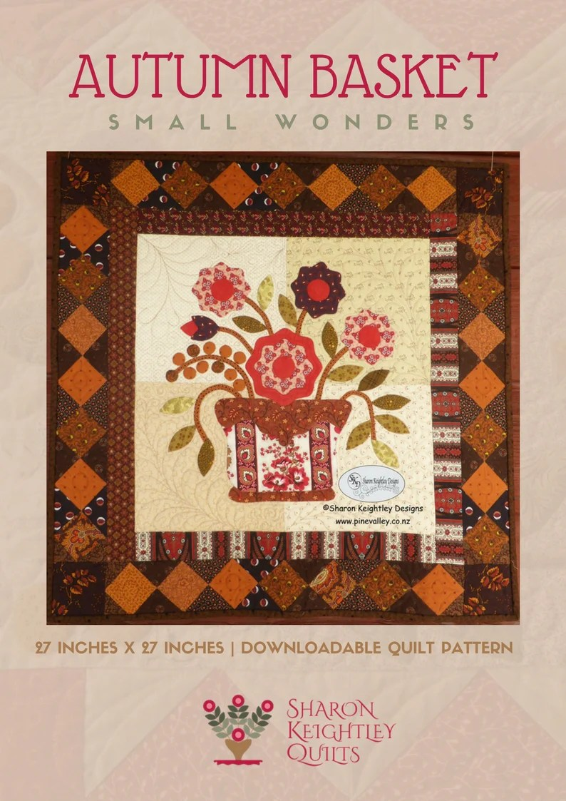 Moderne Quilts Autumn Basket Quilt Pattern