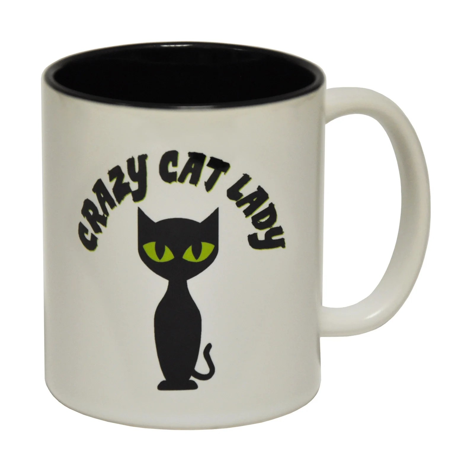 Weird Mugs Funny Mugs Crazy Cat Lady Coffee Mug Novelty Joke Cats