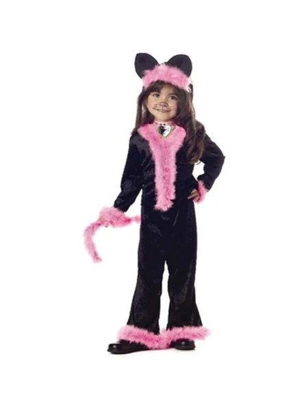 Newborn Toddler Child Toddler Pretty Pink Kitty Cat Costume Costumeish – Cheap