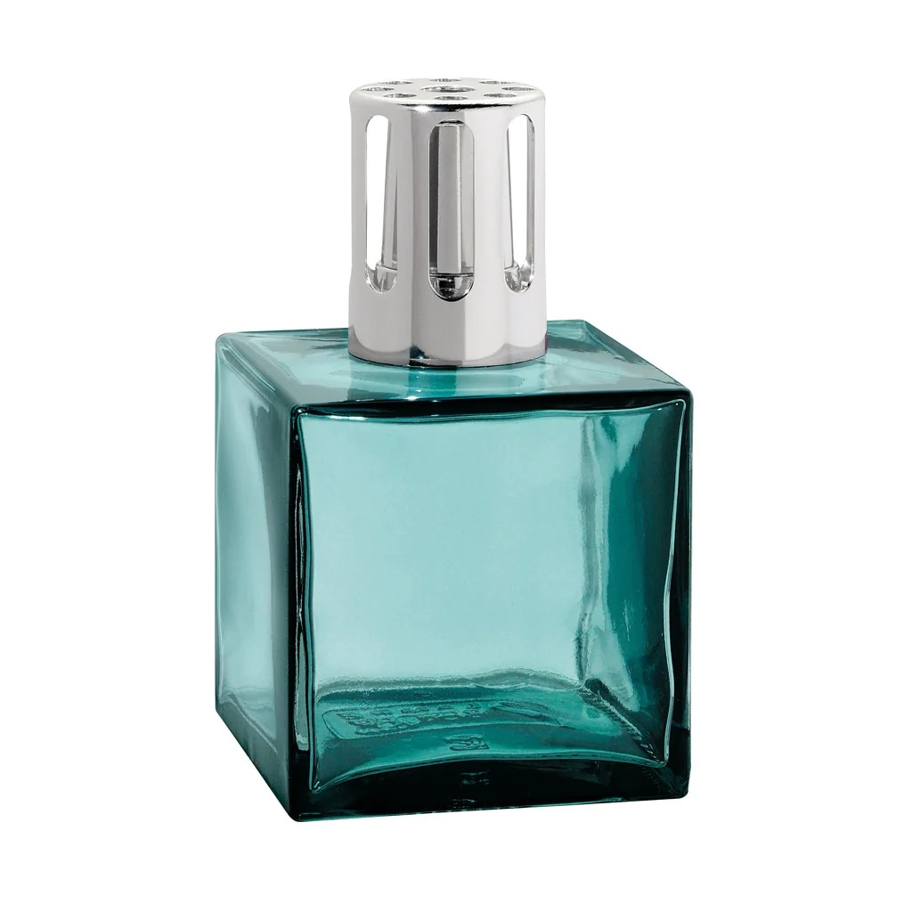 Lampe Berger In Usa Cube Glass Lampe Berger Lamp Turquoise Fragrance Oils