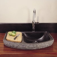 Drop-In Bar Sink  Stone Forest