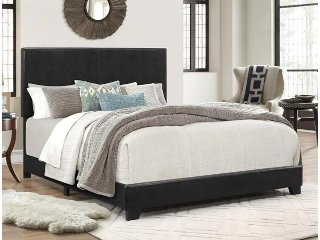 Leather Bed Frame Erin Leather Bedframe 5271 Cr