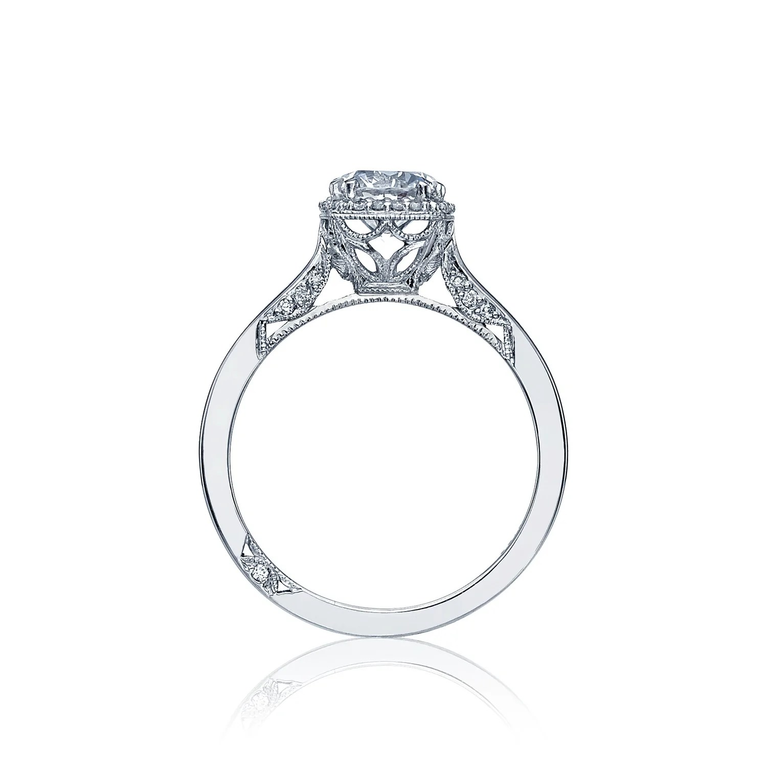 tacori diamond engagement ring dsmtr tacori wedding band Tacori Tacori Dantela Diamond Engagement Ring