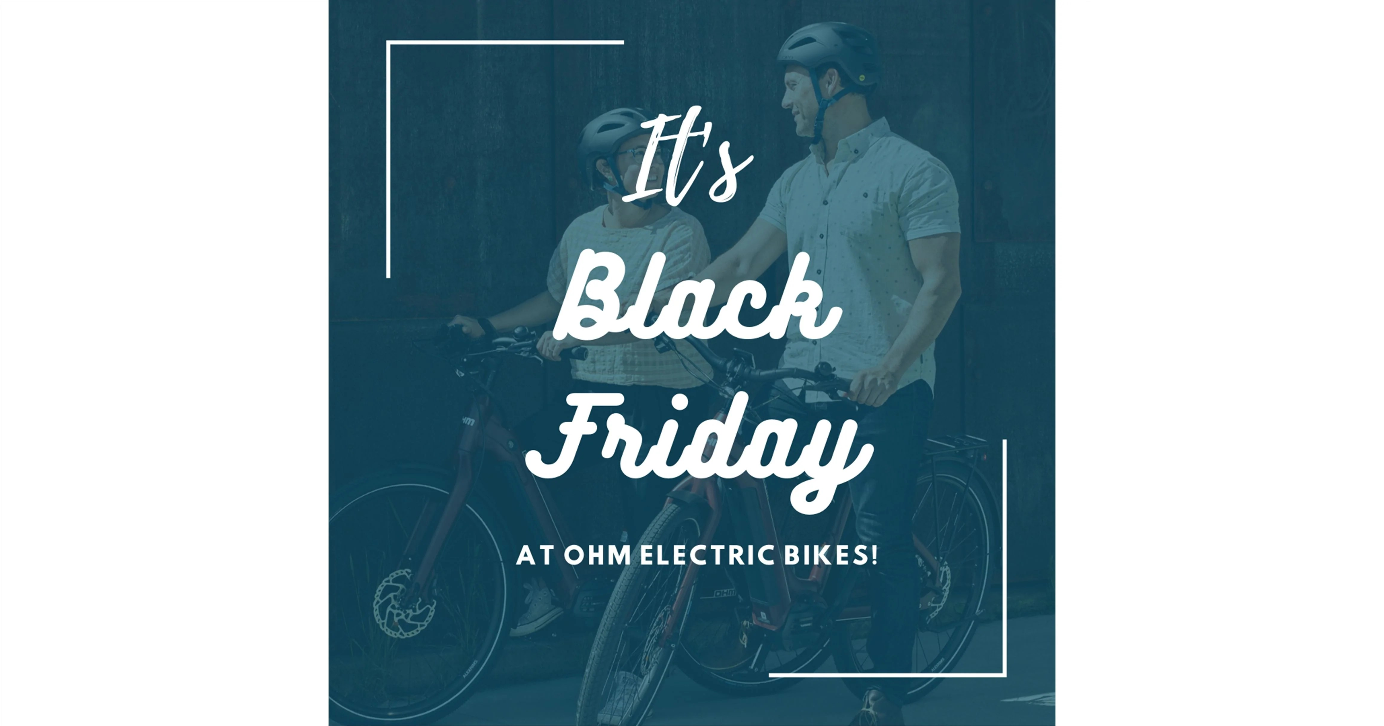 Ohm Electric Bikes Black Friday Cyber Monday Sale