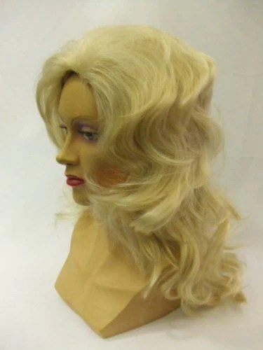 Hair Wig To Dolly Parton Blonde Wig Country And Western Singer