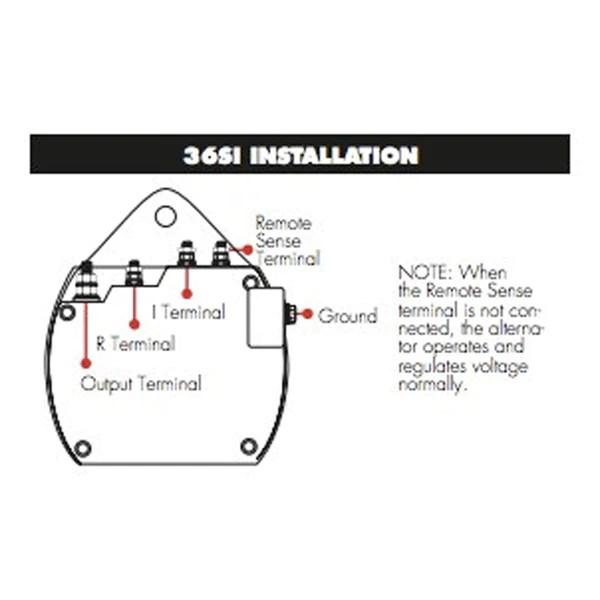 delco remy 36si wiring diagram