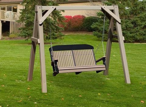 Marlboro Pine Swing Bed By Al Furniture Magnolia Porch