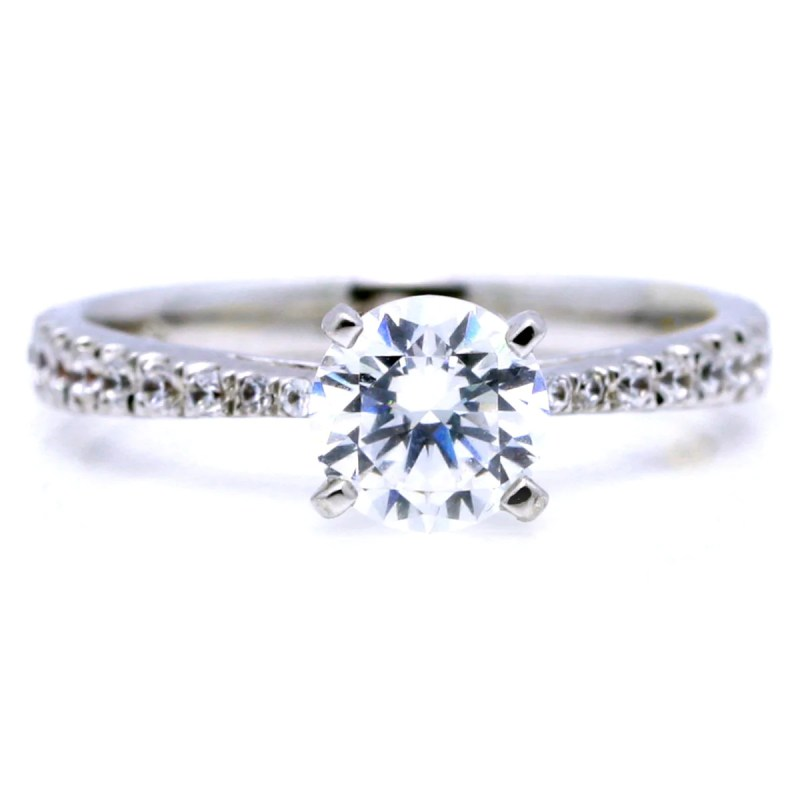 Grande Carat Diamond 1 Carat Diamond Ring On Hand 1 Carat Diamond Worth Carat Diamond Centerstone Carat Classic Solitaire Diamond Engagement Classic Solitaire Diamond Engagement