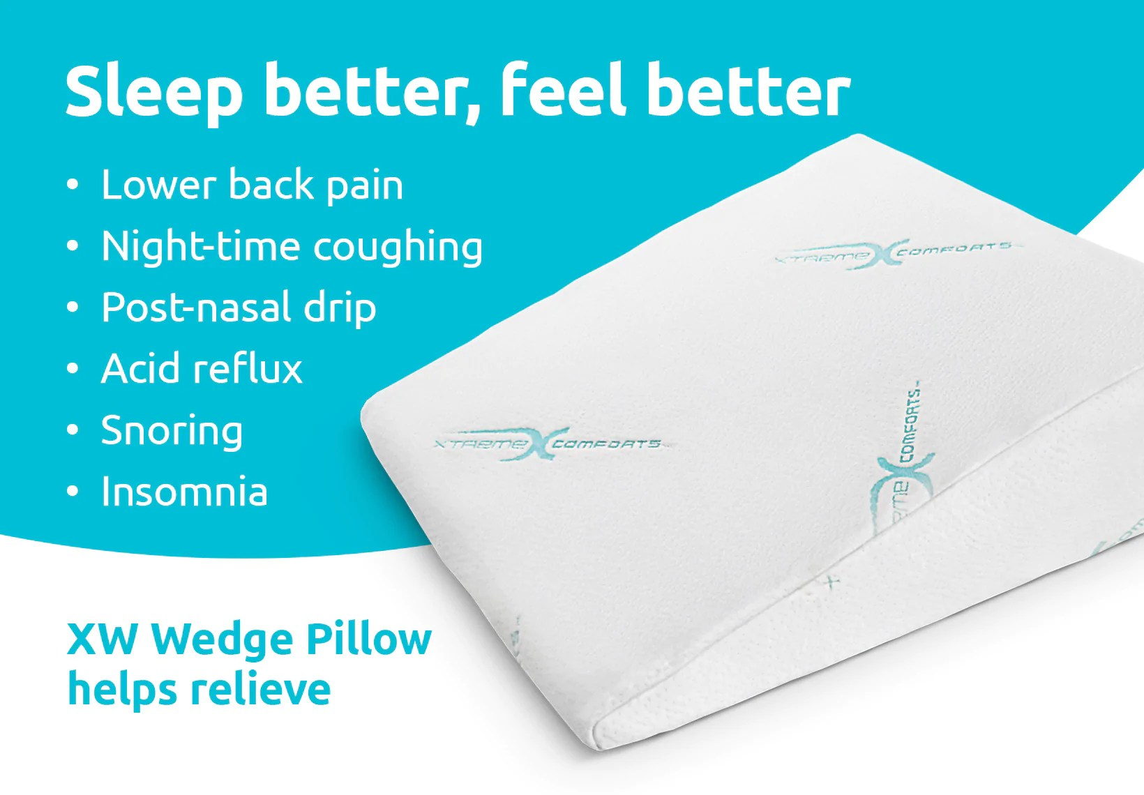 Acid Reflux Pillow Xw Wedge Pillow