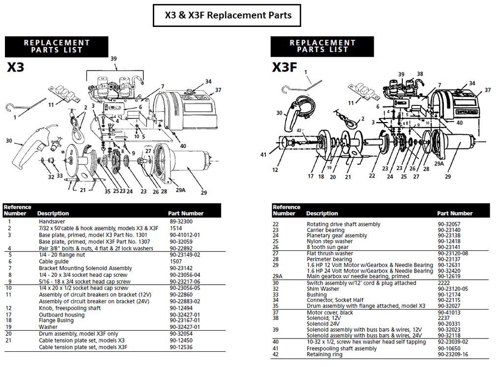 superwinch wiring diagram model 1301