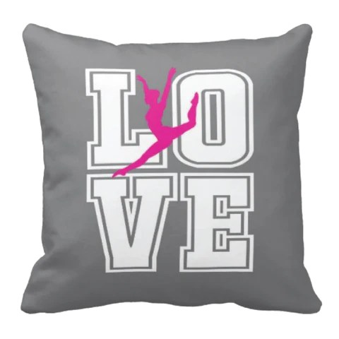 Custom Dance Gifts For Your Dancer Tagged Quotthrow Pillows
