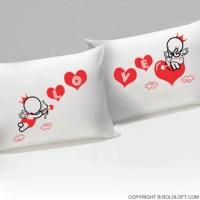Couple Pillowcases,Love Pillowcases,His and Hers ...