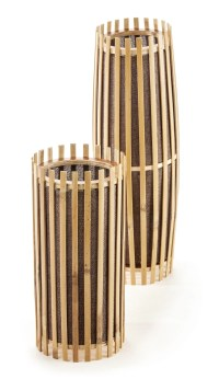 Bamboo Table Lamp set  New Haven Collection