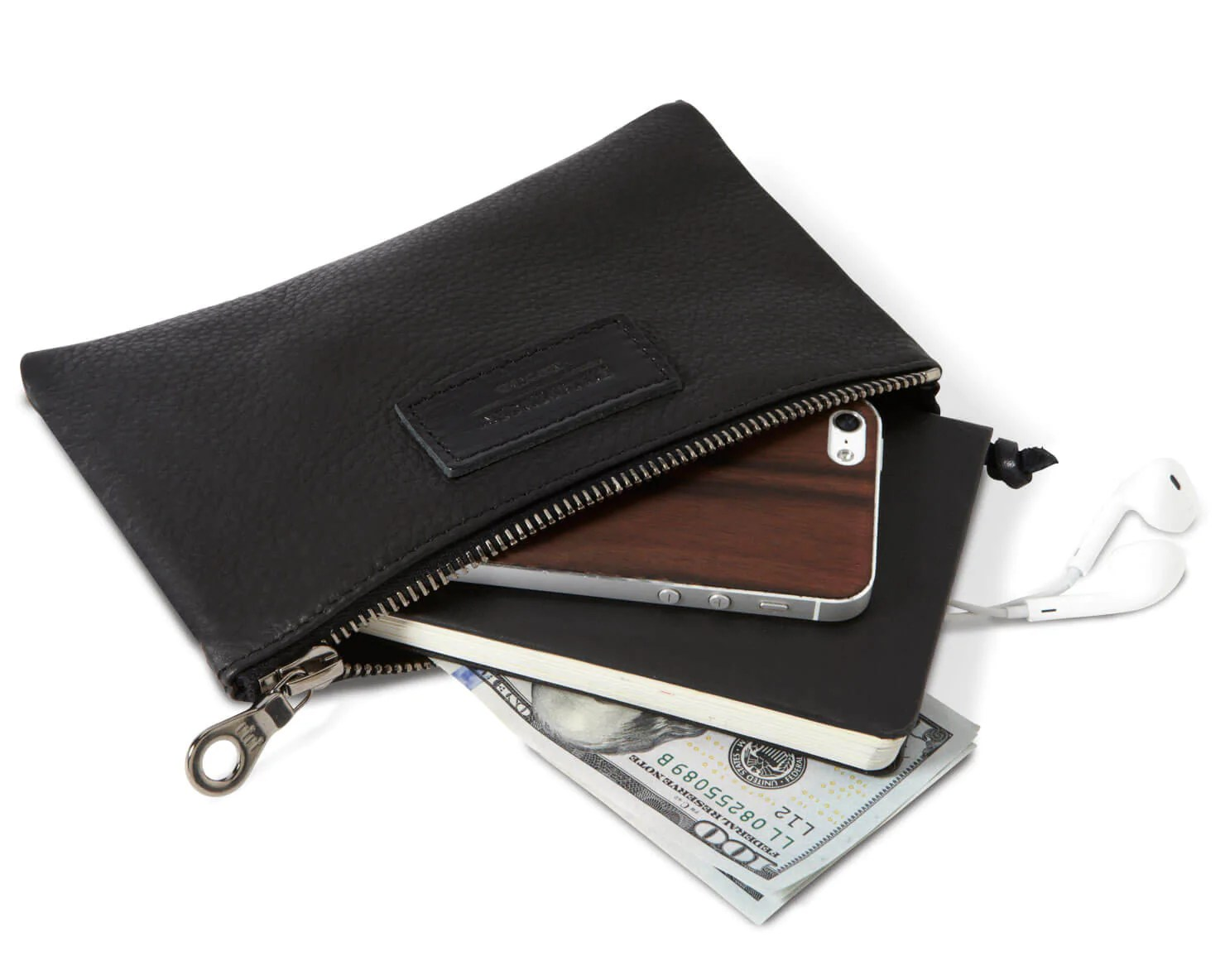 mini zippered pouch