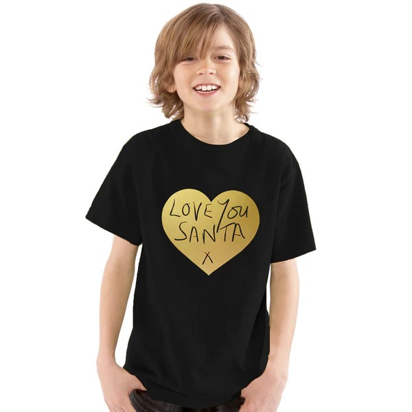 Love You Santa Christmas T-Shirt